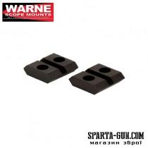 Планка раздельная Warne MAXIMA 2-Piece Steel Rail (Weaver/ Picatinny) для карабина Browning BAR с длинной или короткой ствольной коробкой (Long/ Short Action). Сталь.