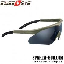 Очки Swiss Eye Raptor. Цвет - оливковый