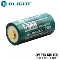 Аккумуляторная батарея Olight 16340 с зарядным портом micro-USB