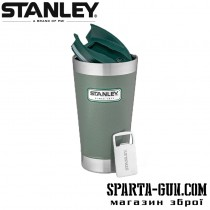 Термокружка Stanley Classic 0,47 л зеленая