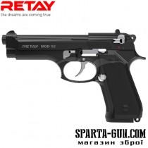 Пистолет стартовый Retay Mod.92 кал. 9 мм. Цвет - black/nickel.
