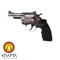 Револьвер Флобера ALFA model 431 (никель, пластик)