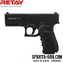 Пистолет стартовый Retay G17 кал. 9 мм. Цвет - black.