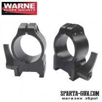 Кольца Warne быстросъемные 25,4мм