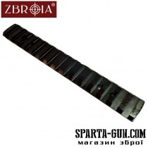 Планка ZBROIA для Browning BAR, Benelli Argo. Профиль Weaver